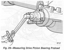 How to fix loose pinion bearing preload 1