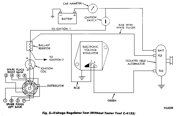 mopar charging systems rh mopar1 us VW Voltage Regulator Wiring Diagram Auto Voltage Regulator Wiring