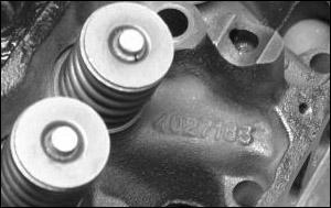 Headcastnumb on Engine Block Cylinder Head